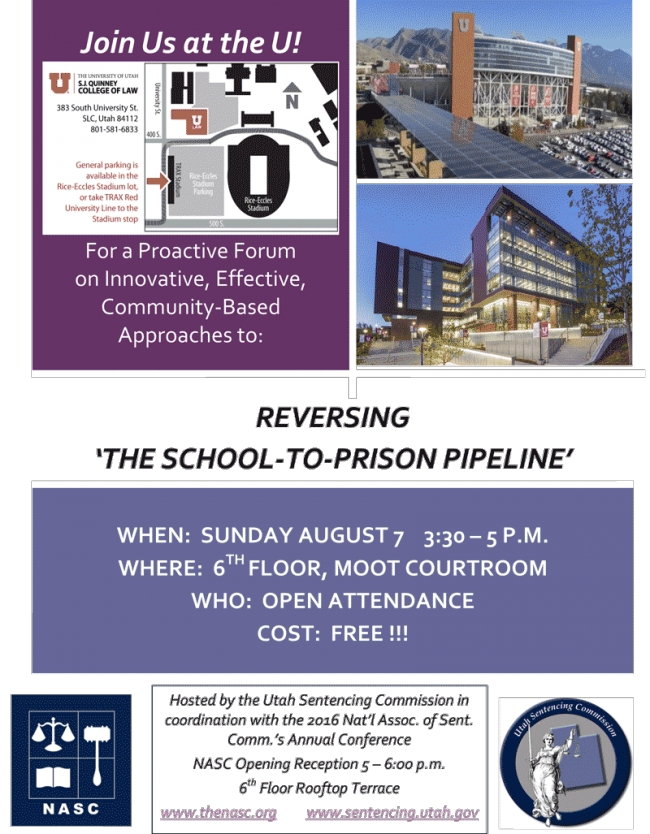 Forum on Reversing the School-to-Prison Pipeline, August 7