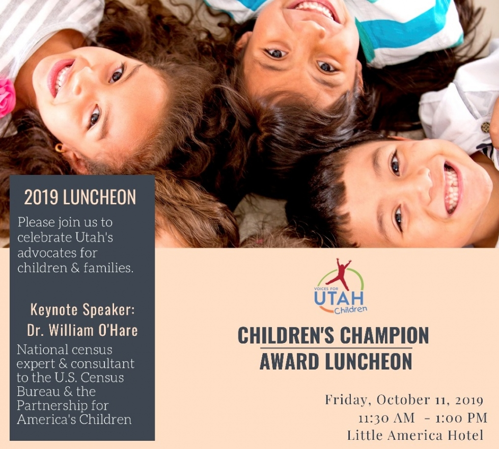 2019 Children's Champion Award Luncheon October 11th