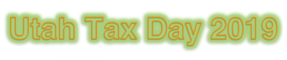 Utah Taxes on Tax Day 2019