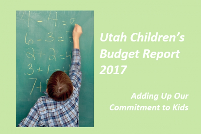 Voices for Utah Children Releases Utah Children's Budget Report 2017